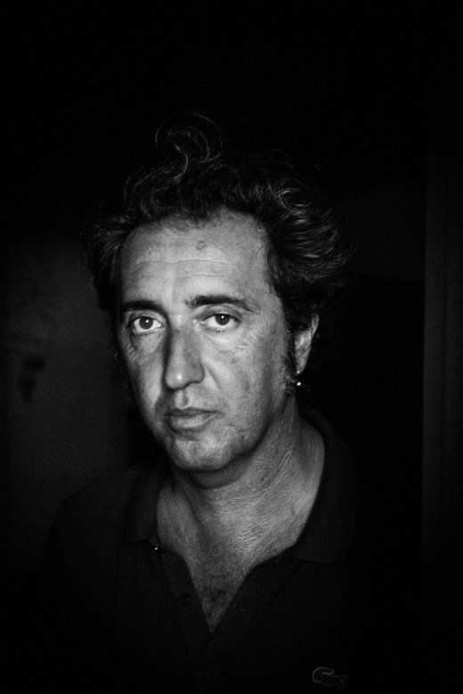 Film director Paolo Sorrentino