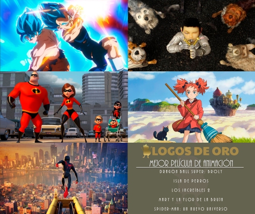 14_Nominadas Mejor película animación